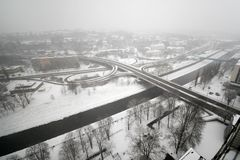 Δρόμοι πόλεων Στοκ φωτογραφίες με δικαίωμα ελεύθερης χρήσης