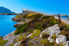 δρόμος ακτών Στοκ Εικόνα