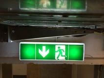 Δρόμος διαφυγής Στοκ εικόνες με δικαίωμα ελεύθερης χρήσης