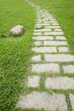 δρόμος κήπων Στοκ εικόνες με δικαίωμα ελεύθερης χρήσης