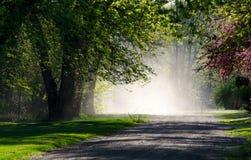 Δρόμος στον ουρανό Στοκ Εικόνα