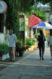Δρόμος Pingjiang Στοκ Εικόνες