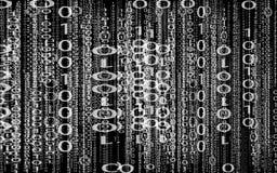 δυαδικός κώδικας Στοκ εικόνες με δικαίωμα ελεύθερης χρήσης