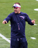 Δυσάρεστος συντονιστής του Josh McDaniels New England Patriots Στοκ φωτογραφία με δικαίωμα ελεύθερης χρήσης
