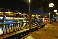 Δυτική φυσική ζώνη Wuzhen Στοκ Εικόνες