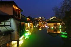 Δυτική φυσική ζώνη Wuzhen Στοκ Φωτογραφίες