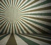 Δωμάτιο με τις αναδρομικές ακτίνες ήλιων Στοκ φωτογραφία με δικαίωμα ελεύθερης χρήσης