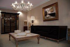 δωμάτιο πολυτέλειας διαβίωσης Στοκ φωτογραφία με δικαίωμα ελεύθερης χρήσης