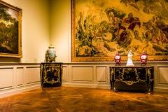 Δωμάτιο στο National Gallery της τέχνης, Ουάσιγκτον, συνεχές ρεύμα Στοκ εικόνα με δικαίωμα ελεύθερης χρήσης