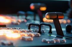 Δωμάτιο τηλεοπτικής ραδιοφωνικής μετάδοσης Στοκ φωτογραφίες με δικαίωμα ελεύθερης χρήσης