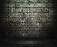 Δωμάτιο τούβλου Grunge Στοκ Φωτογραφία