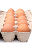 δωδεκάα αυγά Στοκ φωτογραφία με δικαίωμα ελεύθερης χρήσης