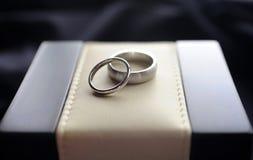 Γαμήλια δαχτυλίδια Στοκ Φωτογραφία