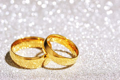 Δύο δαχτυλίδια Στοκ Φωτογραφίες