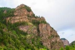 Δύσκολοι λόφοι βουνών του Κολοράντο Στοκ φωτογραφία με δικαίωμα ελεύθερης χρήσης