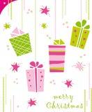 δώρα Χριστουγέννων Στοκ φωτογραφίες με δικαίωμα ελεύθερης χρήσης
