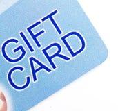 δώρο καρτών Στοκ εικόνες με δικαίωμα ελεύθερης χρήσης