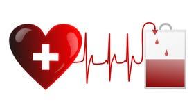 Δώστε το αίμα Στοκ εικόνα με δικαίωμα ελεύθερης χρήσης