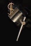 давление вниз Стоковое Изображение RF