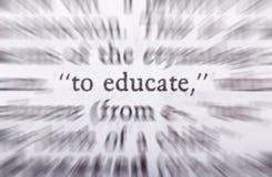 дайте образование к Стоковые Изображения