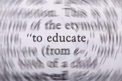 дайте образование к Стоковые Фотографии RF