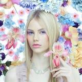 Дама Весна Стоковая Фотография RF