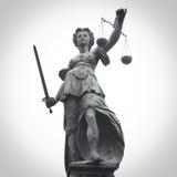 Дама Правосудие Стоковая Фотография
