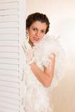 Дама 1920s светлого тонового изображения винтажная Стоковая Фотография