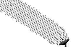 данные по связи Стоковые Фотографии RF