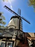 Датский городок Solvang в Калифорнии Стоковые Изображения RF