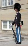 Датский солдат Стоковая Фотография
