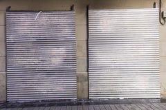 Двери металла Стоковое Изображение RF