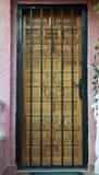 Дверь в Испании Стоковая Фотография