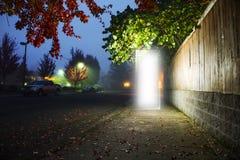 Дверь к другому размеру Стоковая Фотография