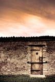 дверь нигде к Стоковое Изображение