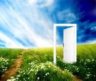 дверь новая к миру Стоковые Фотографии RF