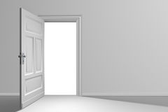 дверь открытая Стоковая Фотография RF