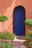 дверь самана Стоковое Изображение