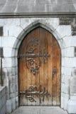 дверь деревянная Стоковая Фотография RF