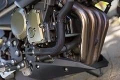 Двигатель мотоцикла Стоковые Фото