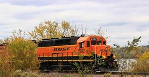 Двигатель поезда Стоковое фото RF