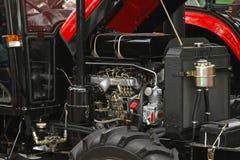 Двигатель трактора Стоковые Изображения