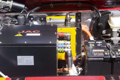 Двигатель электрического автомобиля Стоковые Фотографии RF