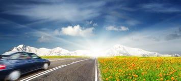 двигать автомобиля Стоковое Изображение RF