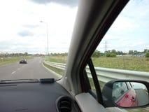 Двигать вокруг город Стоковая Фотография RF
