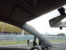 Двигать вокруг город Стоковая Фотография