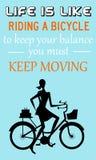 Двигать Keep Стоковые Изображения