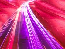 движение города яркое Стоковые Фотографии RF