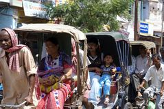 движение Индии Стоковые Фото