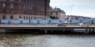 Движение поезда Стоковая Фотография